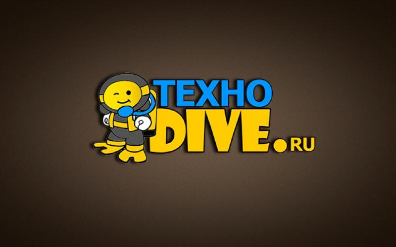 Логотип для сайта ТехноDive