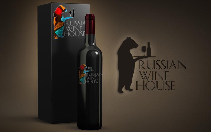 Логотип Русский Винный Дом